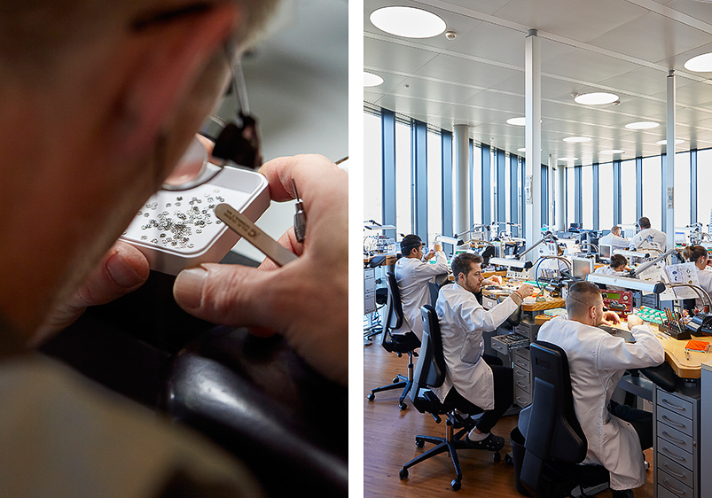 Watchmakers At Vacheron Constantin